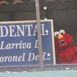 Tickle Me Elmo's forgotten cousin….Gingivitis Elmo