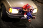 mario brothers viejo...out for his last spin around town before midnight