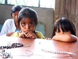 children of the Amazonian Kichwa